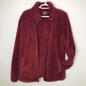 Shambala Zip Up Teddy Style Fluffy Fleece Jacket